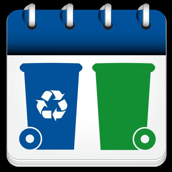Collecte vert et bleu (Auteur : Josée Ouellet)