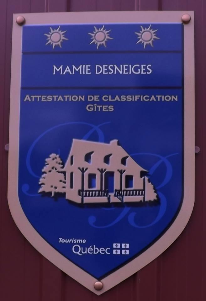 Gite Mamie Desneiges (Photo : © Josée Ouellet)