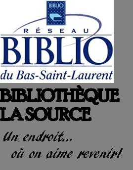 Logo bibliothèque (Auteur : Josée Ouellet)