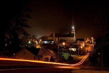Accueil - Village nuit