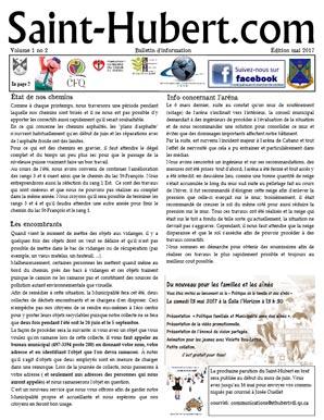 Saint-Hubert.com Mai 2017