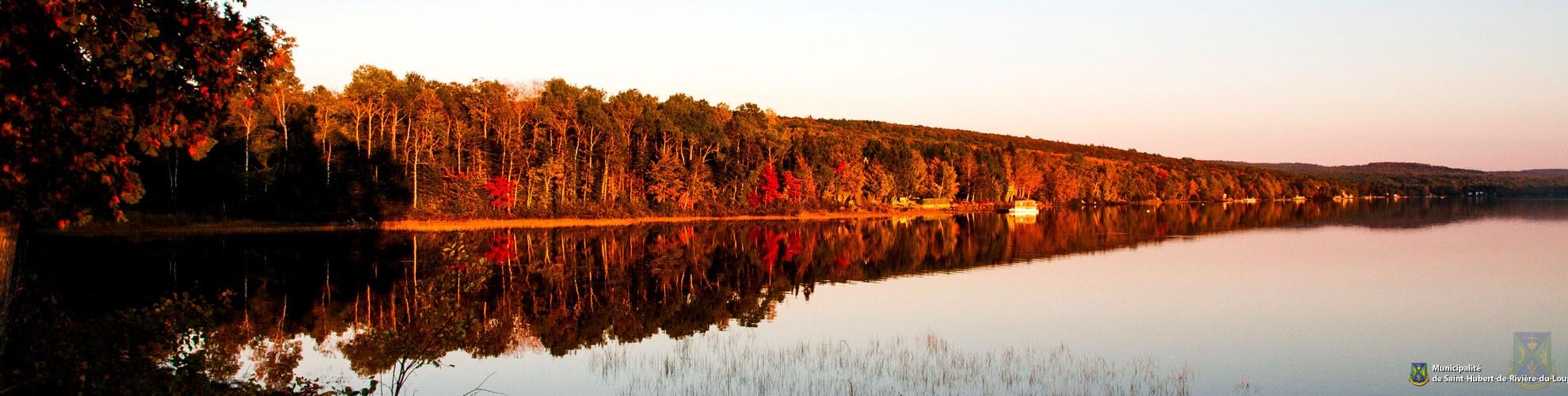 Hero - Lac en automne
