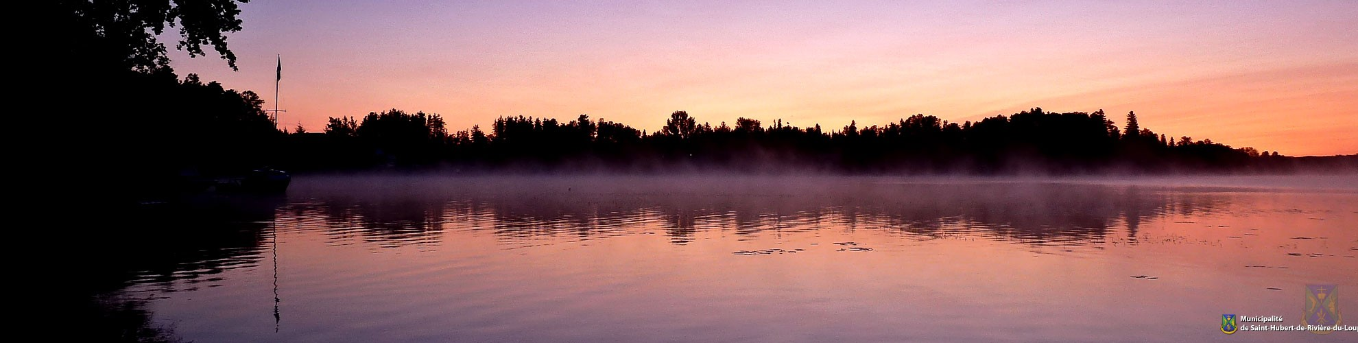 Hero - Lac dans la brume