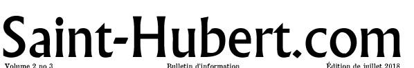 Saint-Hubert com couverture (Auteur : Josée Ouellet)