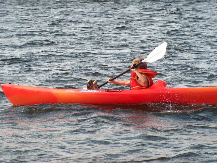 Kayak (Photo : © Josée Ouellet)